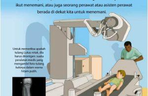 Tulang Kaki Lukas Retak dan Harus Dirontgen