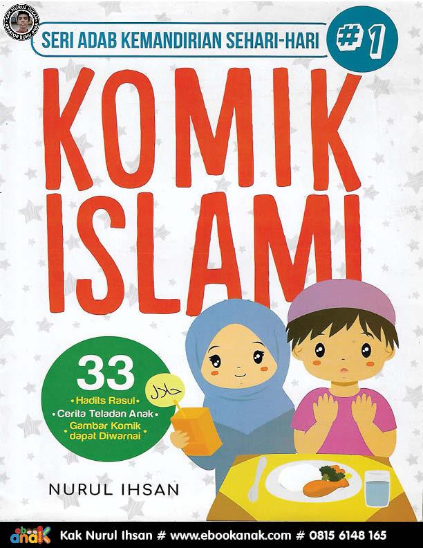 063 download ebook pdf komik 33 komik islami seri adab kemandirian sehari-hari 1