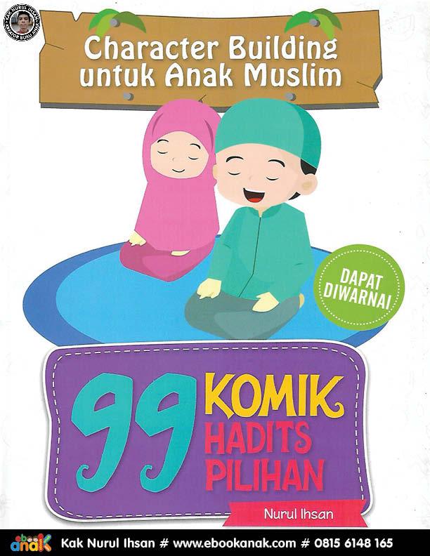 068 99 download ebook pdf komik hadits pilihan; character building untuk anak muslim