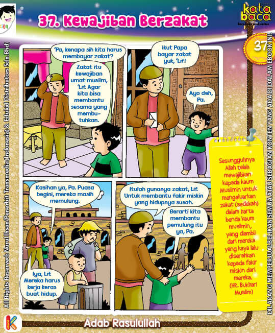 101 Komik Adab Rasulullah, Apa Semua Orang Muslim Wajib Berzakat (37)