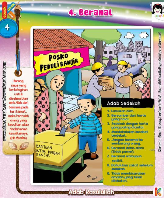 101 Komik Adab Rasulullah, Beramal (4)