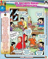 101 Komik Adab Rasulullah, Berhenti Makan Sebelum Kenyang (20)