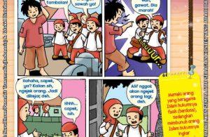 101 Komik Adab Rasulullah, Dosakah Memaki Orang Islam (47)