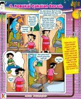 101 Komik Adab Rasulullah, Memakai Pakaian Bersih (7)