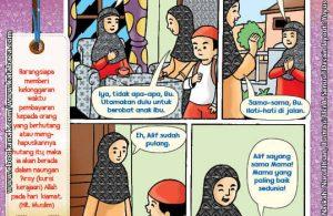 101 Komik Adab Rasulullah, Membayar Utang (44)