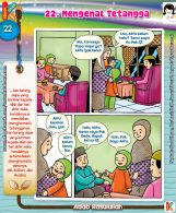 101 Komik Adab Rasulullah, Memuliakan dan Menghormati Tetangga (22)