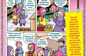 101 Komik Adab Rasulullah, Menahan Keinginan dan Tidak Serakah (49)
