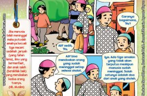 101 Komik Adab Rasulullah, Mendoakan yang Sudah Tiada (12)