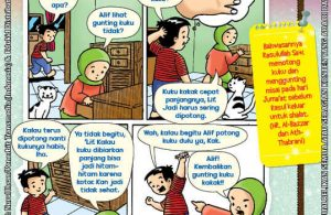 101 Komik Adab Rasulullah, Menggunting Kuku (13)