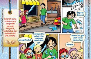 101 Komik Adab Rasulullah, Selalu Menjaga Bicara (8)
