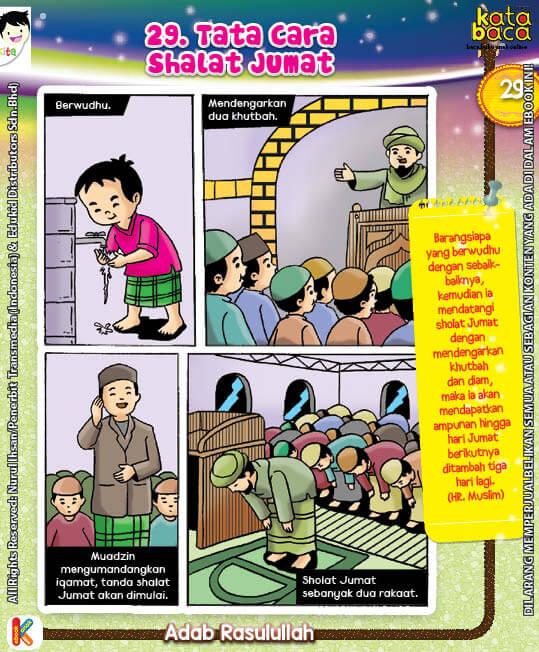 101 Komik Adab Rasulullah, Tata Cara Shalat Jumat (29)
