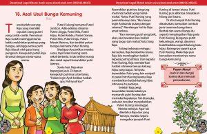 101 cerita nusantara, Asal-Usul Bunga Kemuning (Cerita Rakyat Riau) (13)