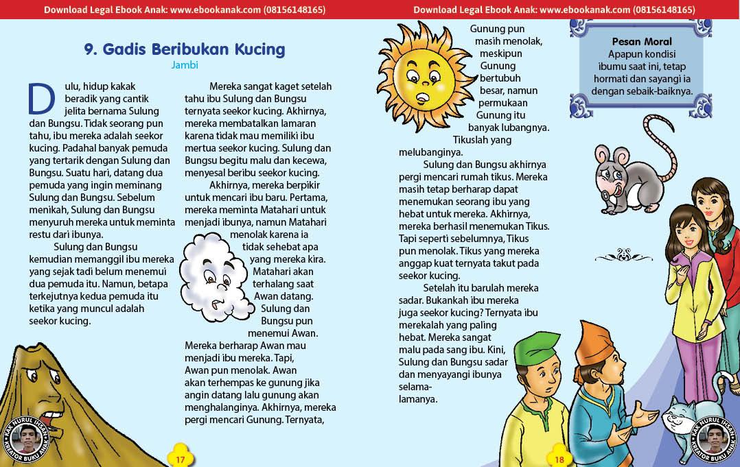 101 cerita nusantara, Gadis Beribukan Kucing (Cerita Rakyat Jambi) (9)