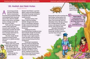 101 cerita nusantara, Hadiah dari Babi Hutan (Cerita Rakyat Bangka Belitung) (20)