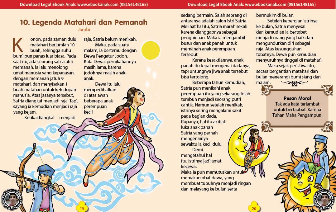 101 cerita nusantara, Legenda Matahari dan Pemanah (Cerita Rakyat Jambi) (10)