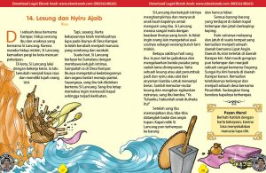 101 cerita nusantara, Lesung dan Nyiru Ajaib (Cerita Rakyat Riau) (14)