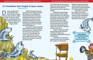 101 cerita nusantara, Perselisihan Ikan Tongkol dan Ayam Jantan (Cerita Rakyat Kepulauan Riau) (16)