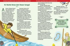 101 cerita nusantara, Rantai Emas dari Dasar Sungai (Cerita Rakyat Riau) (15)