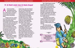 101 cerita nusantara, Si Pahit Lidah dan Si Mata Empat (Cerita Rakyat Sumatera Selatan) (17)