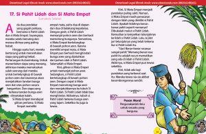 Si Pahit Lidah dan Si Mata Empat (Cerita Rakyat Sumatera Selatan)