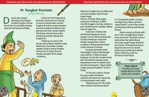 101 cerita nusantara, Tongkat Permata dan Asal Mula Pulau Kapal (Cerita Rakyat Bangka Belitung) (19)