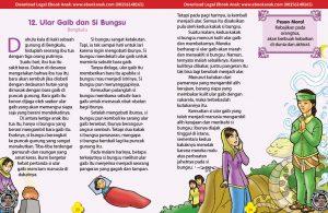 101 cerita nusantara, Ular Gaib dan Si Bungsu (Cerita Rakyat Bengkulu) (12)