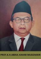 183 Prof. KH. Abdul Kahar Mudzakkir