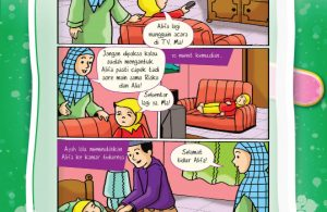 komik hadits sahih Nabi Muhammad