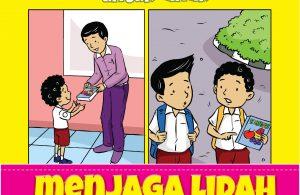 komik hadits pilihan untuk anak