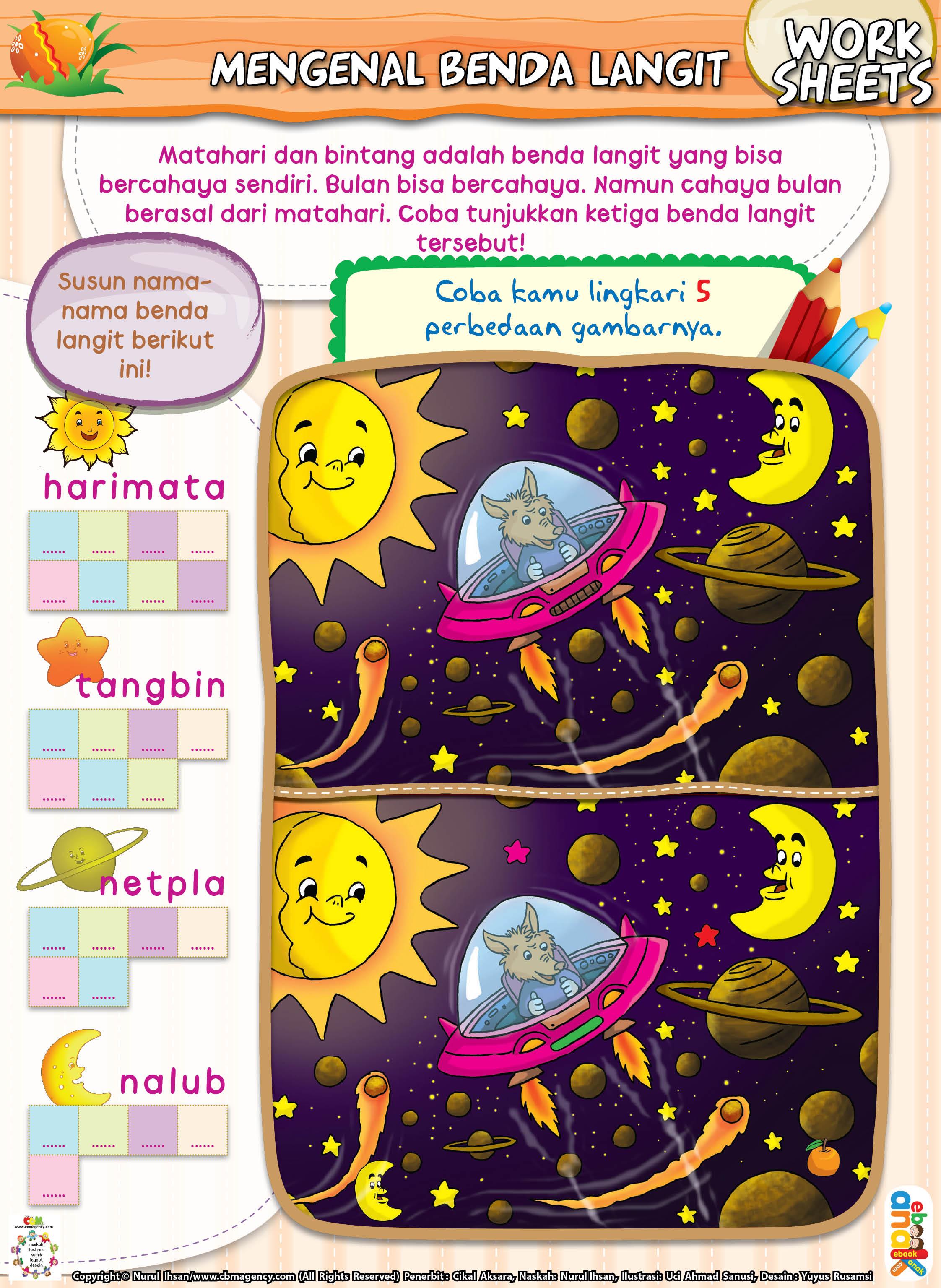 Mengenal Benda Langit Ebook Anak