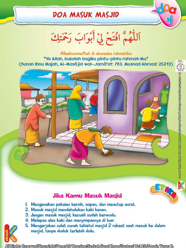 Adab masuk masjid harus menutup aurat