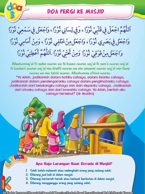 Doa dan Adab Pergi Ke Masjid