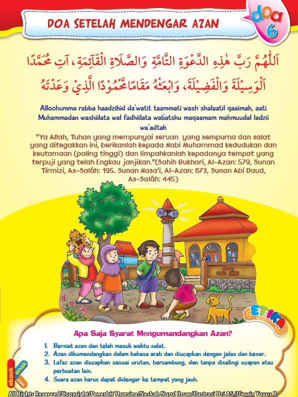 Azan dikumandangkan dalam bahasa arab