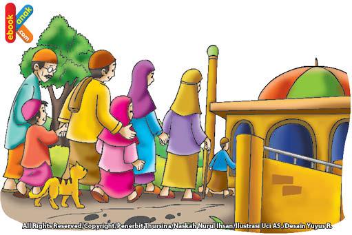 adab di masjid dilarang jual beli di dalam masjid