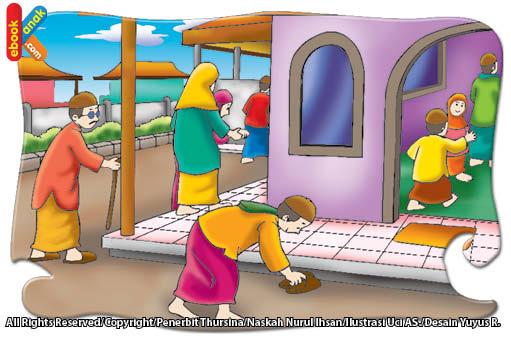 Adab masuk masjid harus sopan