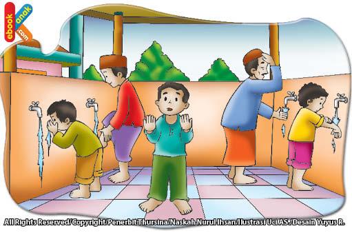 Doa Dan Adab Sebelum Wudu Ebook Anak