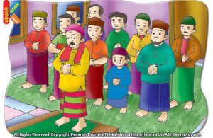 saat berjamaah Makmum mengikuti semua gerakan salat imam