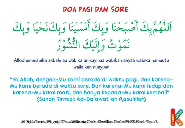 Tidak pernah malas ikut pengajian sore atau malam di masjid