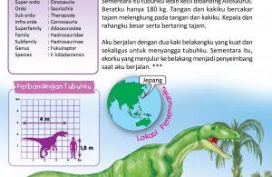 Fukuisaurus berkerabat dengan Allosaurus