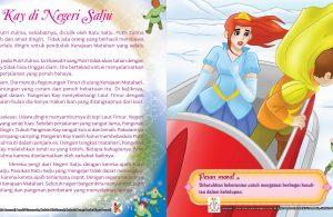 Putri Zulma, sahabatnya, diculik dan tawan oleh Ratu Salju
