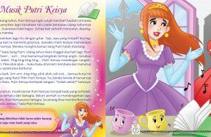 Putri Keisya ingin sekali memberi hadiah istimewa untuk ibunda ratu.