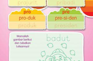 menulis awalan pra, pri, pro, dan pre