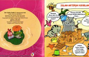 Adik-adik harus menyayangi Islam.
