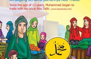 Nabi muhammad berdagang bersama Abu thalib.