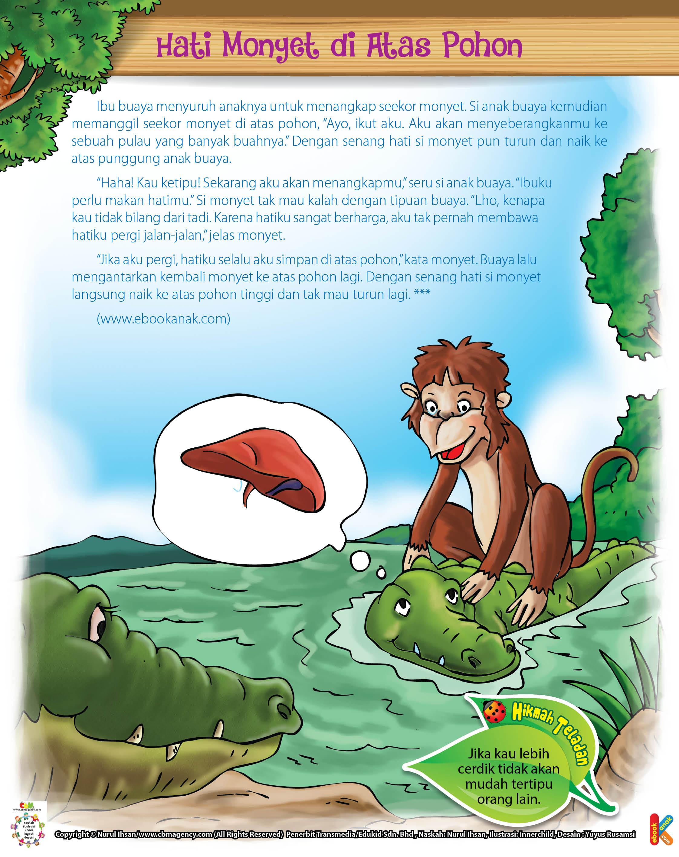 Hati Monyet Di Atas Pohon Ebook Anak