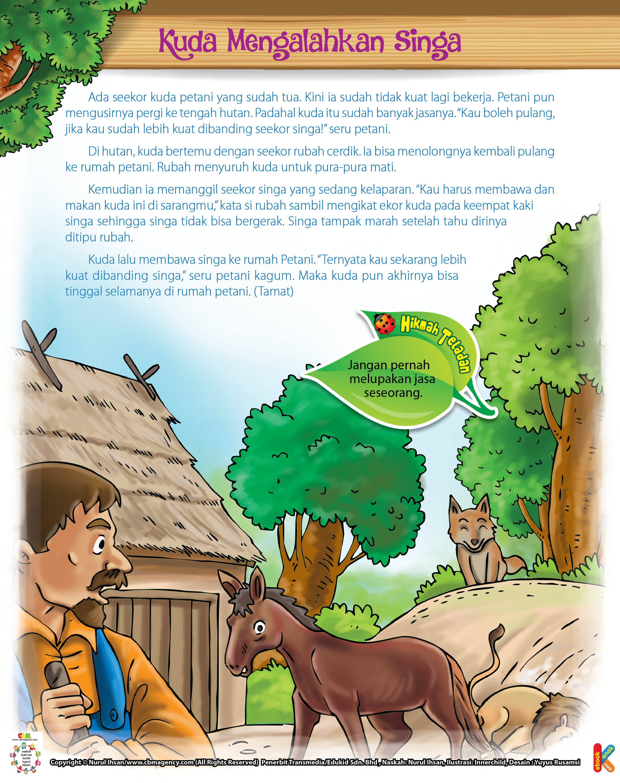Kuda Mengalahkan Singa Ebook Anak