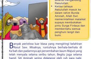 Misalnya, runtuhnya berhala-berhala di Ka'bah.