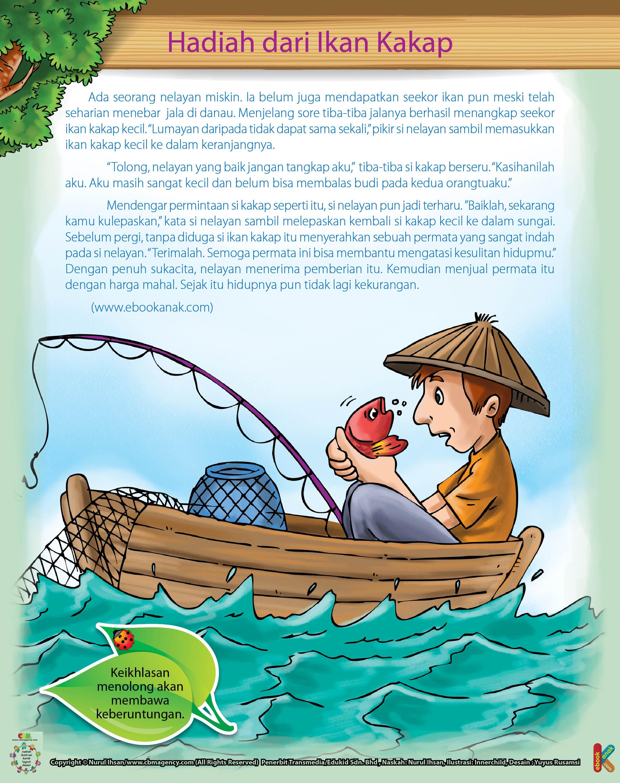 Hadiah Permata Dari Ikan Kakap Untuk Pak Tua Ebook Anak