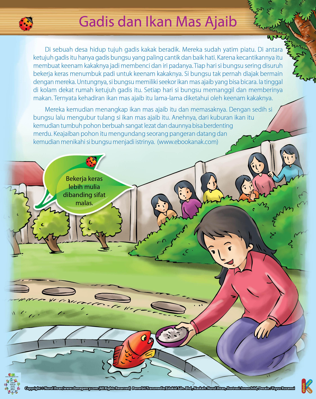 100 Fabel Pilihan Ebook Anak Part 3 Gadis Bungsu Ikan