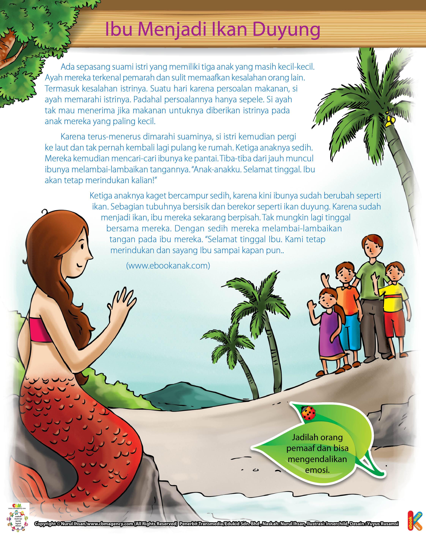 Ibu Yang Menjadi Ikan Duyung Ebook Anak